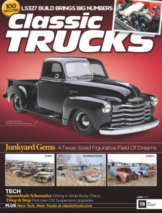 Classic Trucks June 2015
