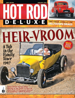 Hot Rod Deluxe Jan 2018