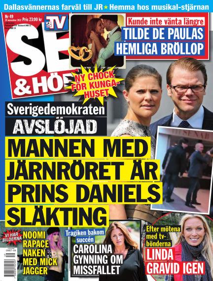 Se & Hör (Inga nya utgåvor) November 28, 2012 00:00