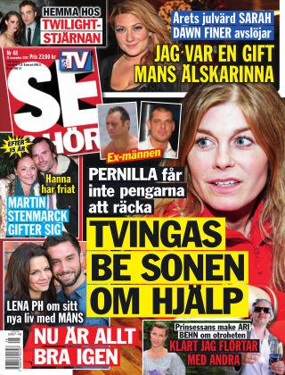 Se & Hör (Inga nya utgåvor) 2012-11-21