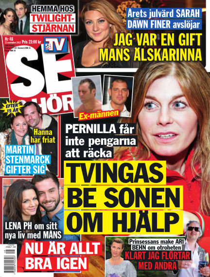 Se & Hör (Inga nya utgåvor) November 21, 2012 00:00