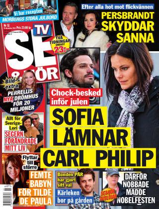 Se & Hör (Inga nya utgåvor) 2013-12-11