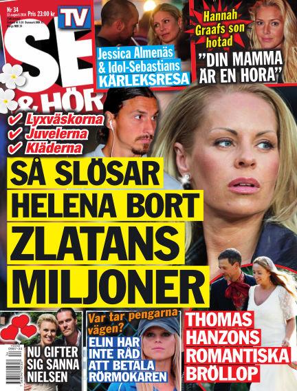 Se & Hör (Inga nya utgåvor) August 13, 2014 00:00