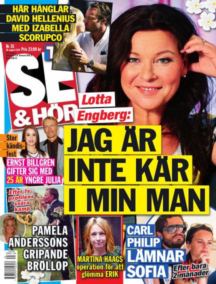 Se & Hör (Inga nya utgåvor) August 20, 2014 00:00