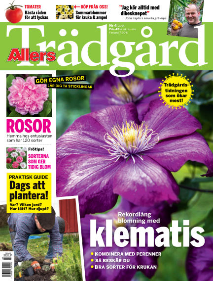 Allers Trädgård April 01, 2014 00:00