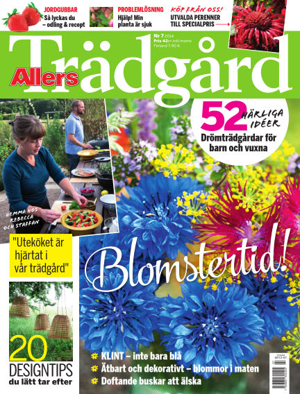 Allers Trädgård June 05, 2014 00:00