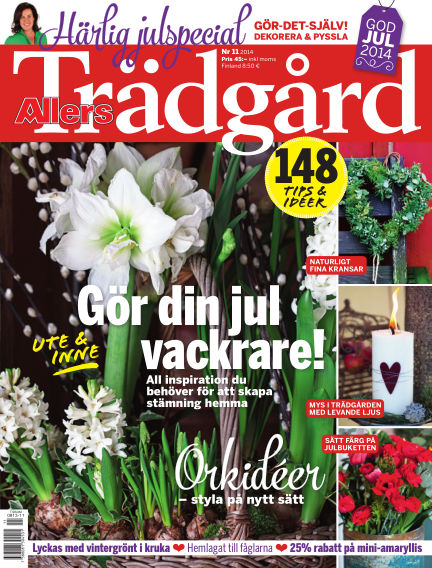 Allers Trädgård November 07, 2014 00:00