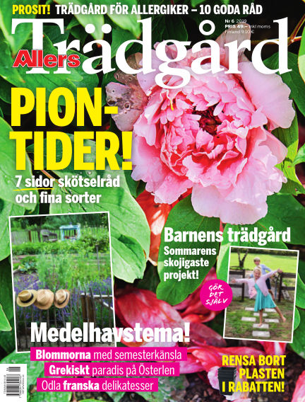 Allers Trädgård May 02, 2019 00:00