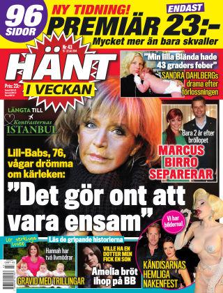 Hänt i Veckan 2014-10-15