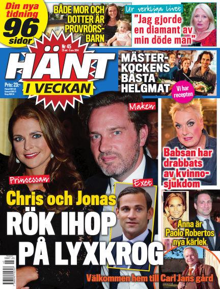 Hänt i Veckan October 29, 2014 00:00