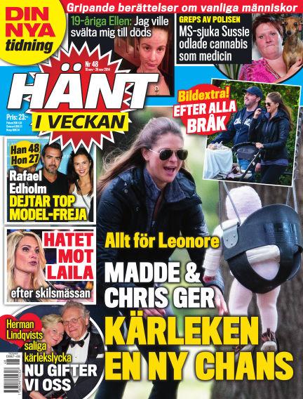 Hänt i Veckan November 19, 2014 00:00