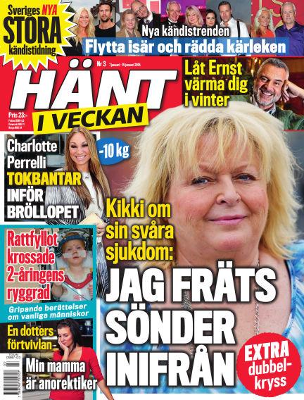 Hänt i Veckan January 07, 2015 00:00