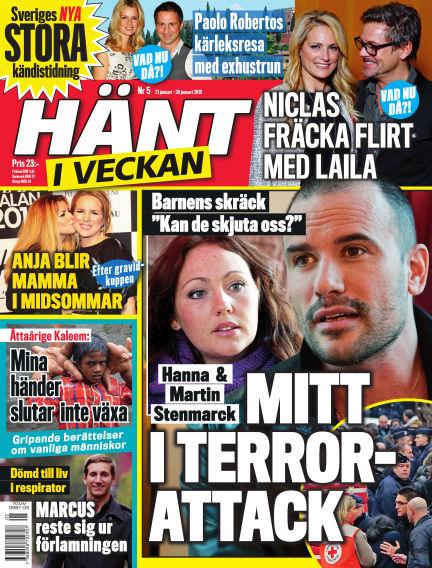 Hänt i Veckan January 21, 2015 00:00
