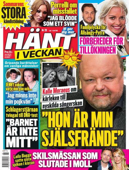 Hänt i Veckan July 01, 2015 00:00