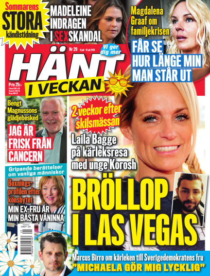 Hänt i Veckan July 08, 2015 00:00