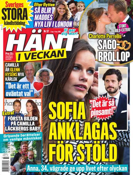 Hänt i Veckan September 02, 2015 00:00