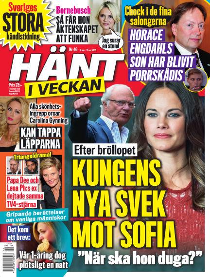 Hänt i Veckan November 04, 2015 00:00