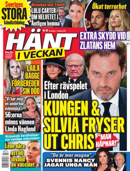 Hänt i Veckan November 25, 2015 00:00