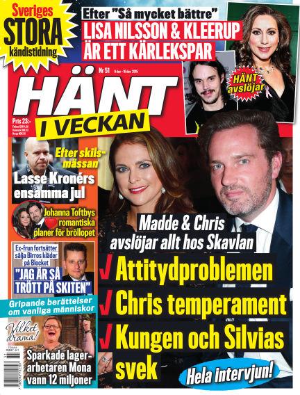 Hänt i Veckan December 09, 2015 00:00