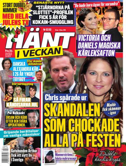 Hänt i Veckan December 17, 2015 00:00