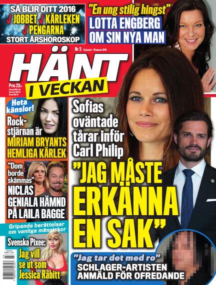 Hänt i Veckan January 14, 2016 00:00