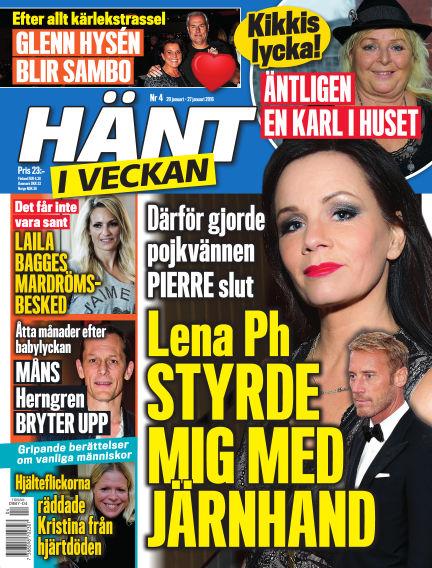Hänt i Veckan January 21, 2016 00:00