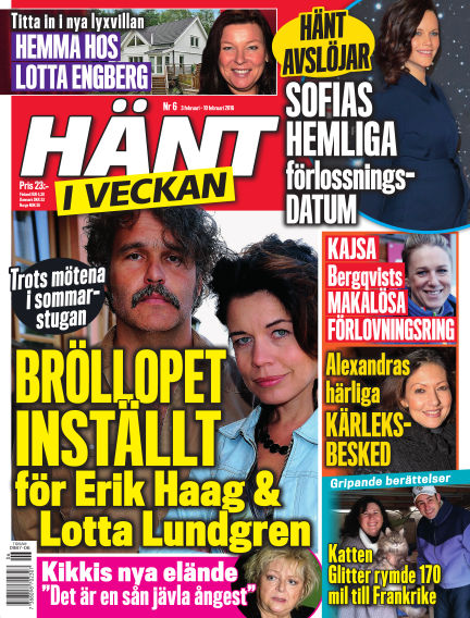 Hänt i Veckan February 04, 2016 00:00