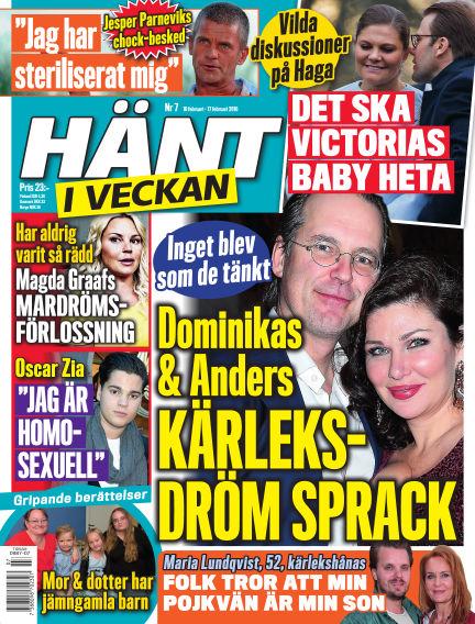 Hänt i Veckan February 11, 2016 00:00