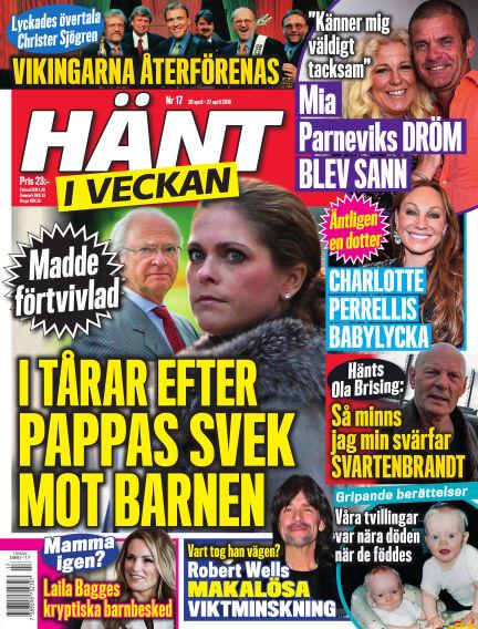 Hänt i Veckan April 21, 2016 00:00