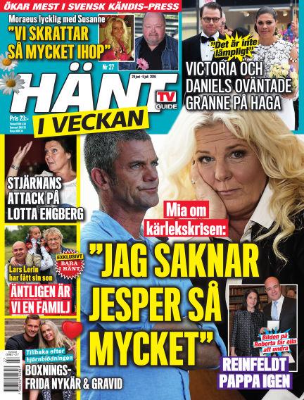 Hänt i Veckan June 30, 2016 00:00