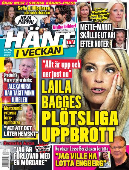 Hänt i Veckan August 25, 2016 00:00