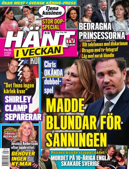 Hänt i Veckan September 15, 2016 00:00
