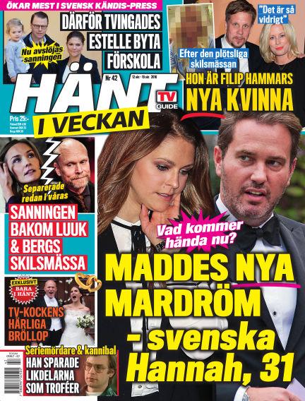 Hänt i Veckan October 13, 2016 00:00