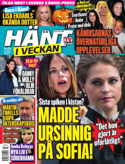 Hänt i Veckan November 03, 2016 00:00