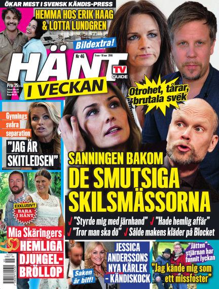 Hänt i Veckan November 10, 2016 00:00