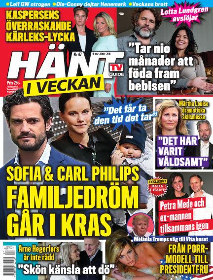 Hänt i Veckan November 17, 2016 00:00