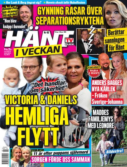 Hänt i Veckan November 24, 2016 00:00