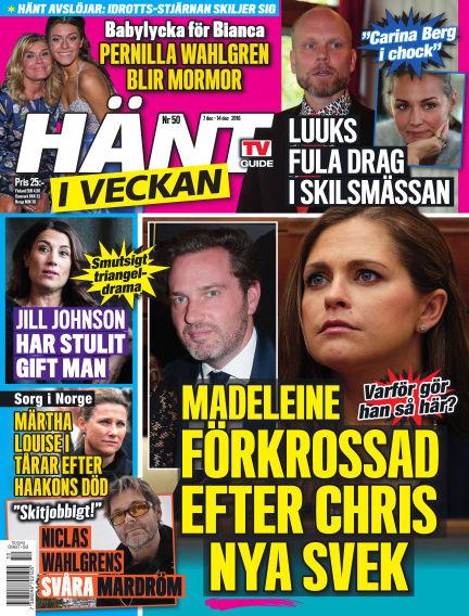 Hänt i Veckan December 08, 2016 00:00