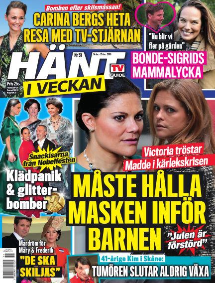 Hänt i Veckan December 15, 2016 00:00