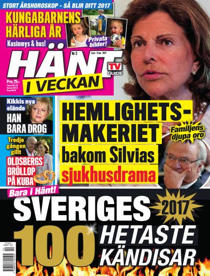 Hänt i Veckan January 03, 2017 00:00