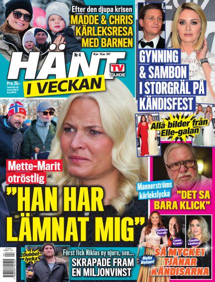 Hänt i Veckan January 19, 2017 00:00