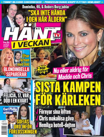 Hänt i Veckan March 23, 2017 00:00