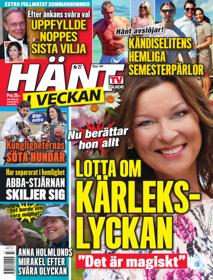 Hänt i Veckan June 29, 2017 00:00