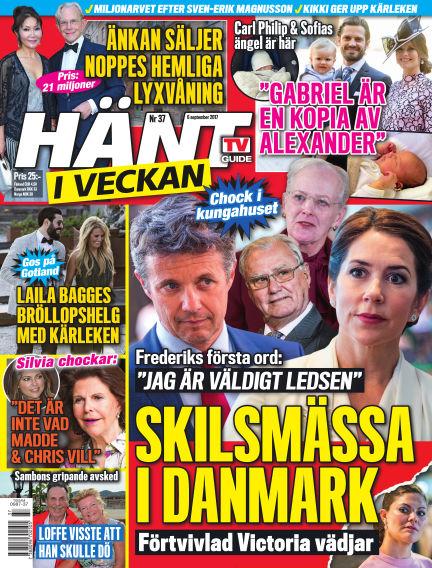 Hänt i Veckan September 07, 2017 00:00