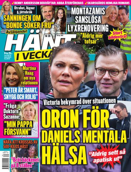 Hänt i Veckan September 21, 2017 00:00