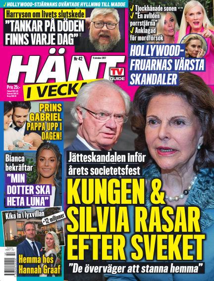 Hänt i Veckan October 12, 2017 00:00