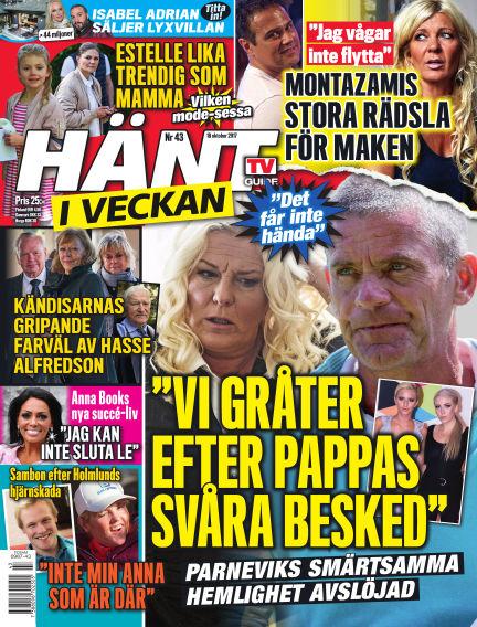 Hänt i Veckan October 19, 2017 00:00