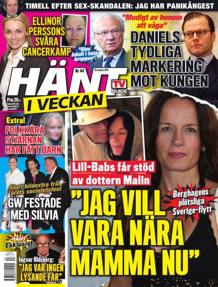 Hänt i Veckan October 26, 2017 00:00