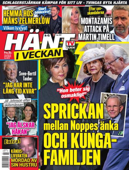 Hänt i Veckan November 02, 2017 00:00
