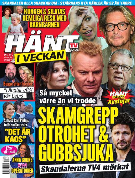 Hänt i Veckan November 09, 2017 00:00